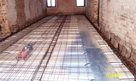 Venezia, Floors Reconstruction, Palazzo Testa